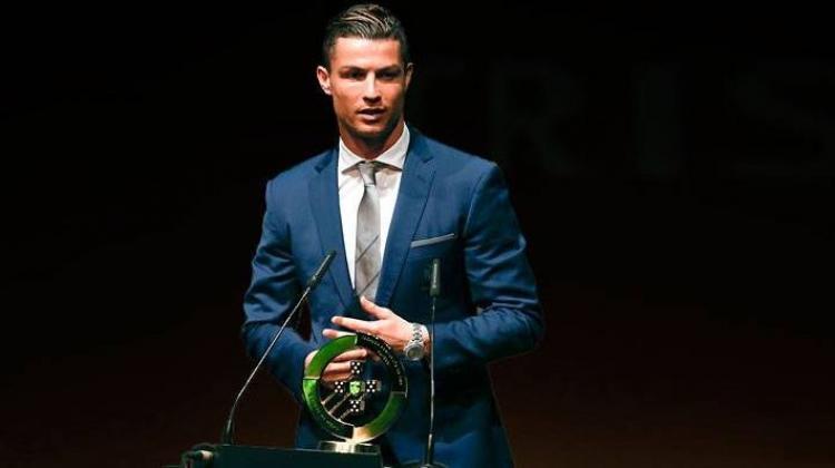 Ronaldo'ya bir ödül daha! 'Çok mutluyum'