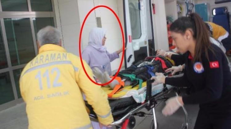 Sedyedeki hastanın yüzünü görünce yıkıldı!