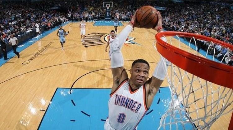 Westbrook abartıyor! 57 sayılık 'triple double'