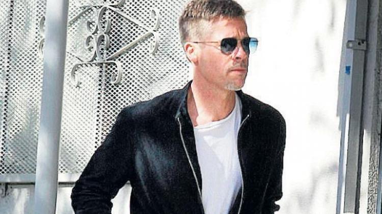 Brad Pitt'i görenler tanıyamadı