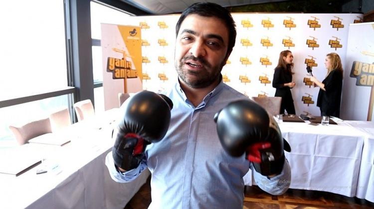 Azerbaycanlı komedyenden Gökbakara boks çağrısı