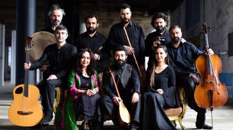 The Secret Ensemble & Mahsa Vahdat konseri CRR'de