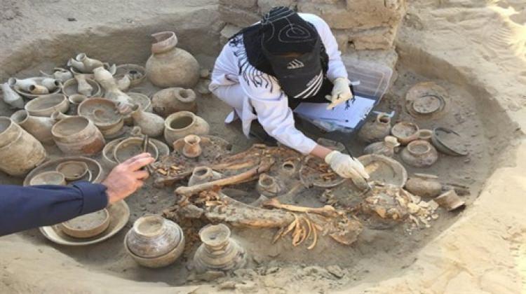 4600 Yıllık zengin kadının mezarı şok etti 25