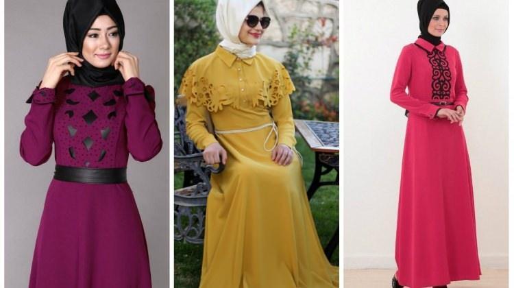 Tesettürlü kadınlar en çok bu elbiseleri seviyor!
