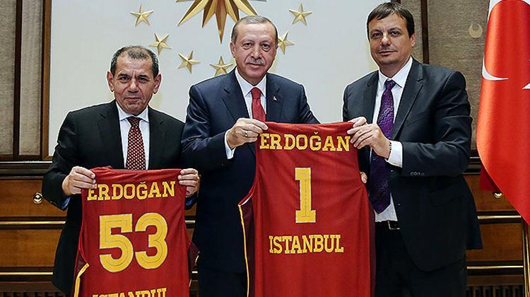 Erdoğan'dan Galatasaray'a tarihi öneri!