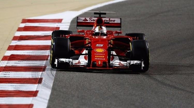 Bahreyn'de zafer Vettel'in oldu!