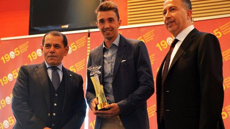Galatasaray'da yılın futbolcusu Muslera!