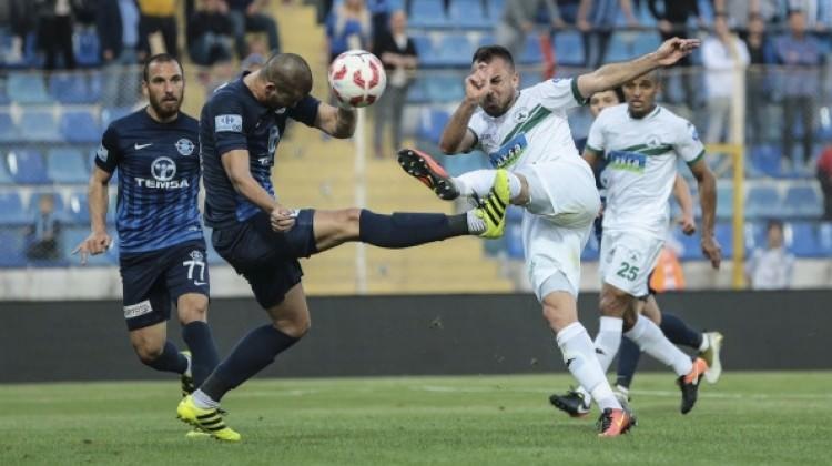Giresunspor 3 dakikada Adana Demirspor'u yıktı