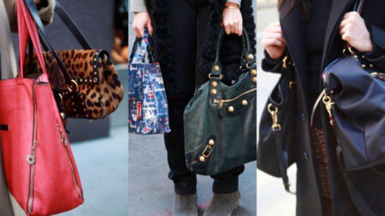Şimdi moda 'çift çanta'