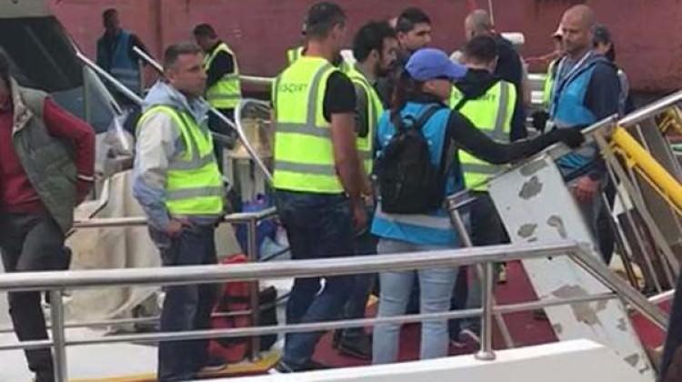 Yunanistan 80 mültecyi iade etti