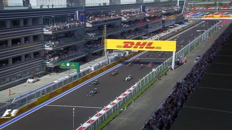 Formula 1 heyecanı Rusya'da sürecek...
