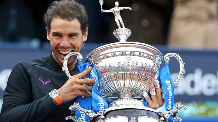 Nadal Barcelona'da 10. kez şampiyon