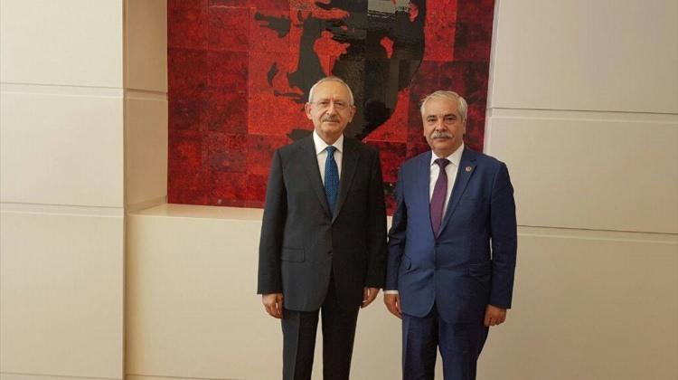 Başkan Özcan Kılıçdaroğlu'nu ziyaret etti