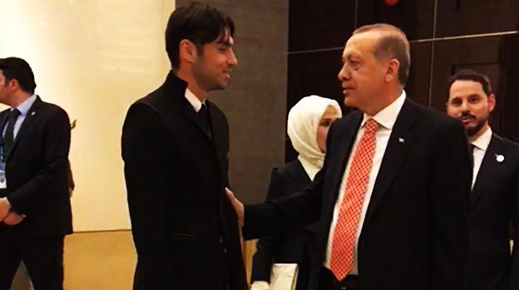 Çin'de sürpriz buluşma! Erdoğan'la bir araya geldi