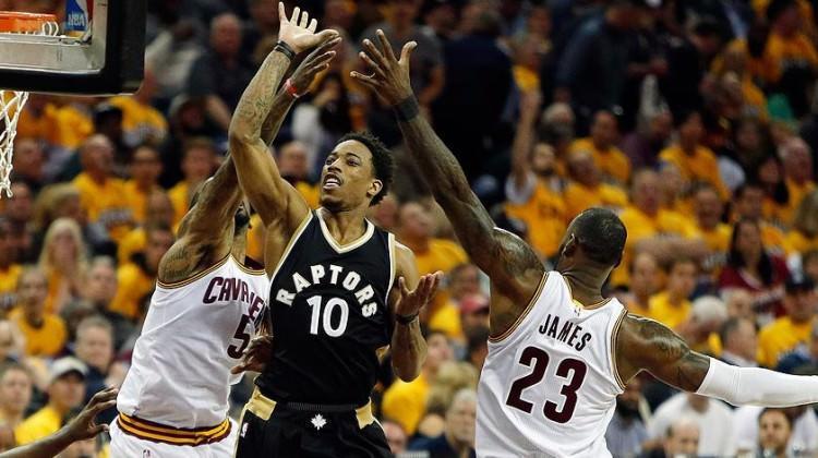 Doğu Konferansı'nda Cleveland Cavaliers finalde