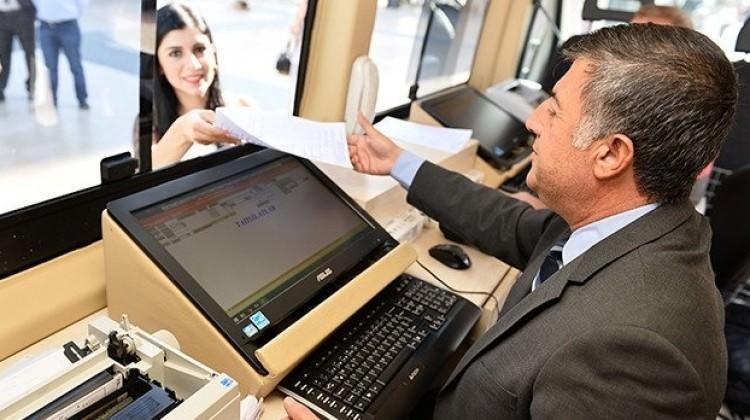 Vergi borçları için mobil vezne yollara çıkıyor