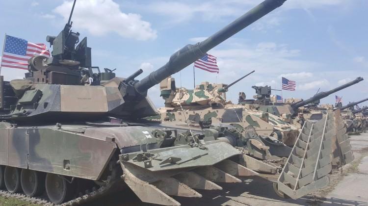 ABD askeri tankı havaya uçuruldu!