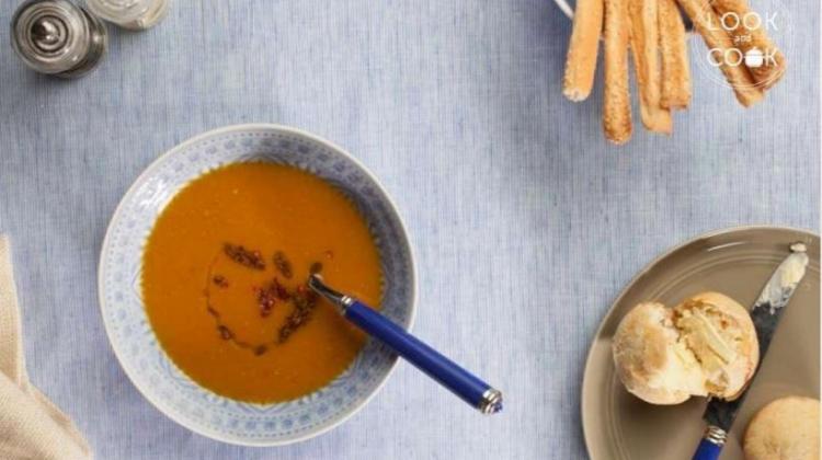 Baharatlı tatlı patates çorbası tarifi