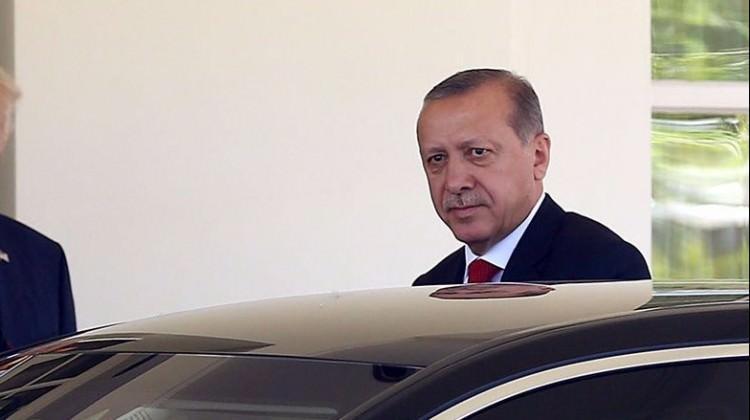 Erdoğan ABD'li yöneticilerle buluştu
