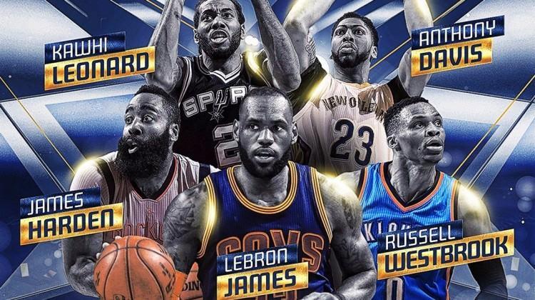 NBA'de yılın en iyi takımı açıklandı