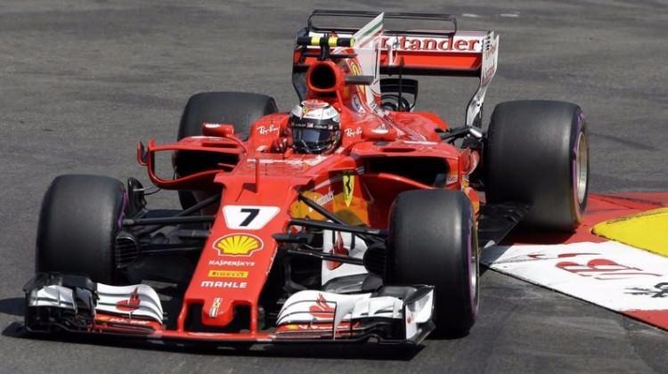 Monaco'da pole pozisyonu Raikkonen'in