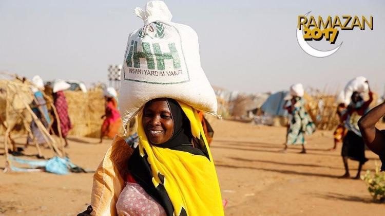 İHH Sudan'ın  yüzünü güldürüyor