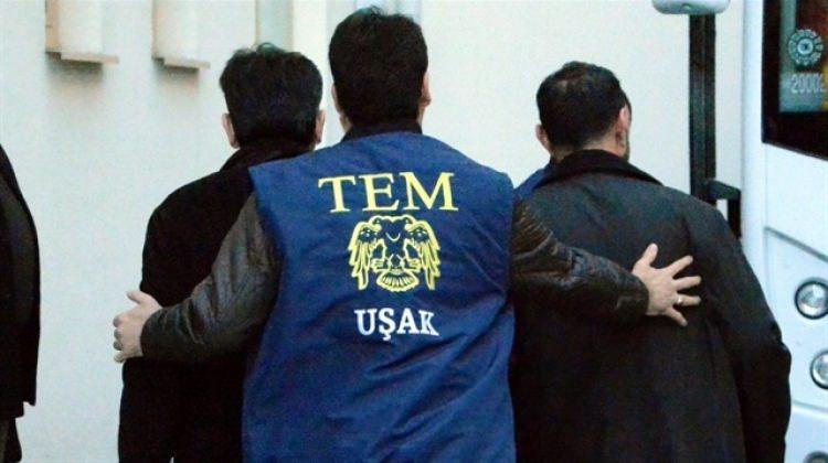 Uşak'ta 'ByLock'çu 4 kişiye tutuklama