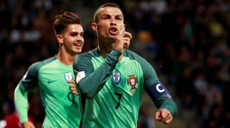 Cristiano Ronaldo bildiğiniz gibi!