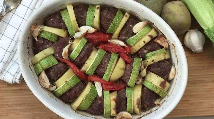 Kabaklı patatesli dizme köfte tarifi