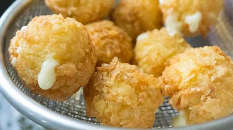 Cevizli patates kroket tarifi
