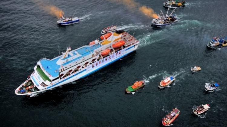 Mavi Marmara'dan sonra bir ilk!