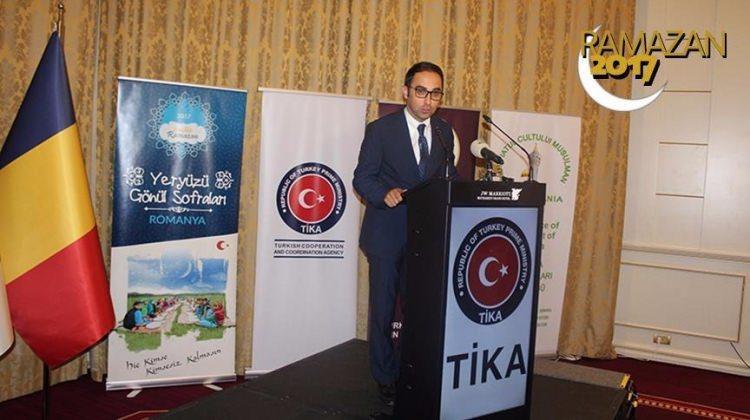 TİKA, Bükreş'te iftar programı düzenledi