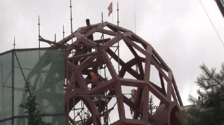 15 Temmuz Şehitler Anıtı'nda çalışmalar sürüyor