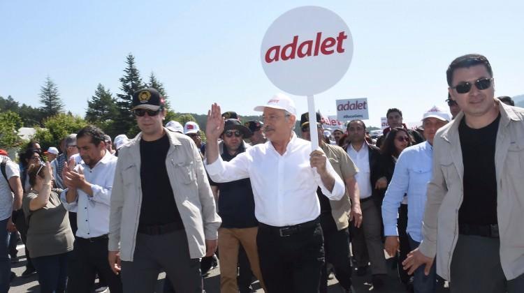 CHP'nin yürüyüşüne PKK'dan tam destek!