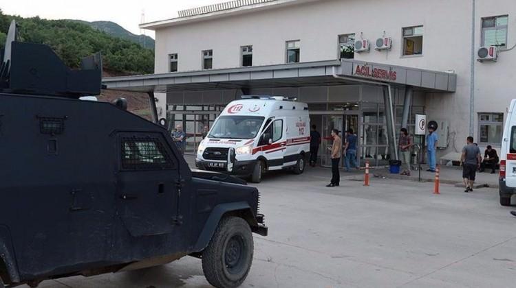 Tunceli'de çatışmada kaza! Yaralı askerler var