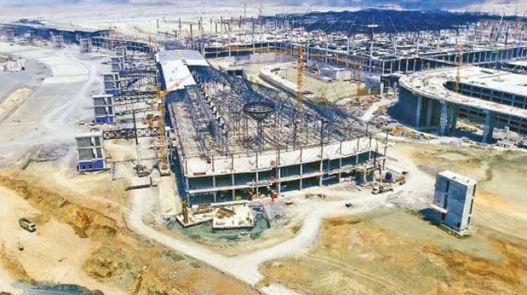 Yeni Havalimanı tam gaz: Yüzde 55'i bitti