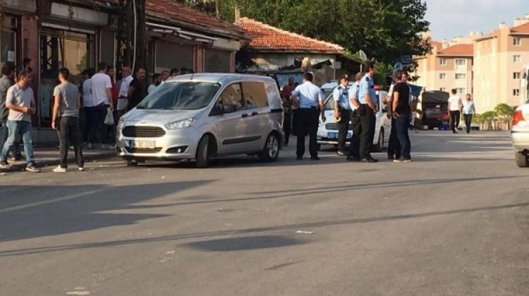 Ankara'da uzun namlulu silahlarla çatışma