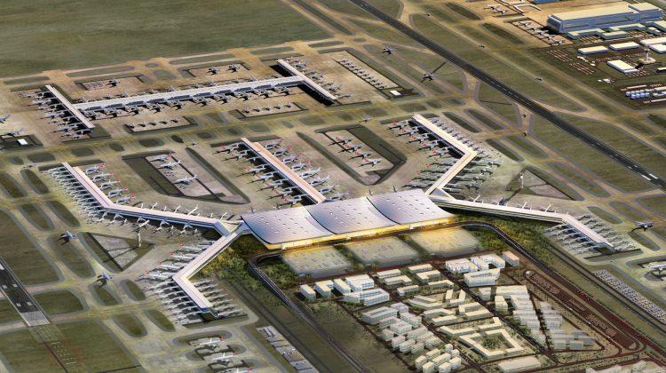 Bakan açıkladı! 3. Havalimanı'na ilk uçak...