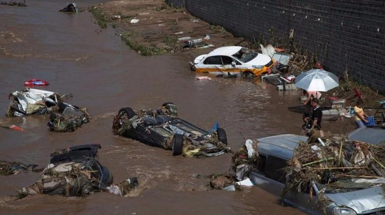Çin'de sel felaketi! Bilanço çok ağır
