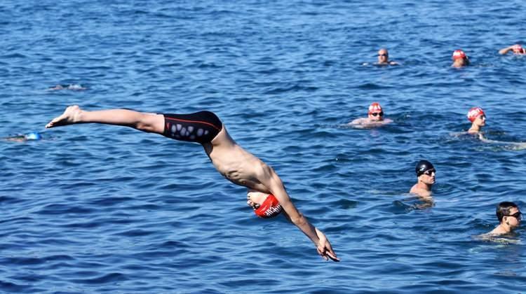 Denizde uzun süre yüzerseniz...
