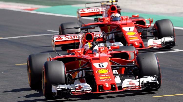 Macaristan'da zafer Ferrari'nin!