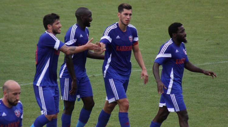 Karabükspor'dan 7 gollü galibiyet