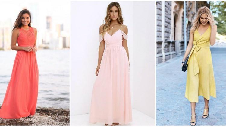 Yaz düğünlerinin en trend elbise modelleri
