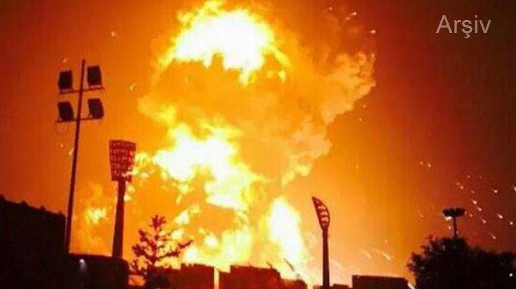 Erbil'de mühimmat deposu patladı! Sebebi ise...