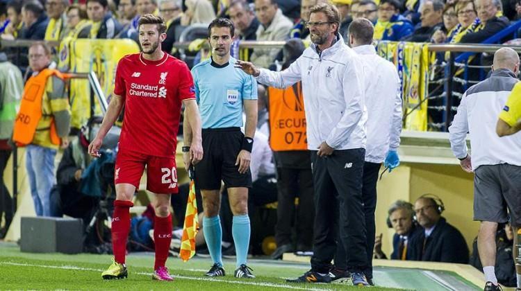 Liverpool'a Lallana'dan kötü haber