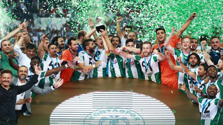 Süper Kupa Atiker Konyaspor'un!