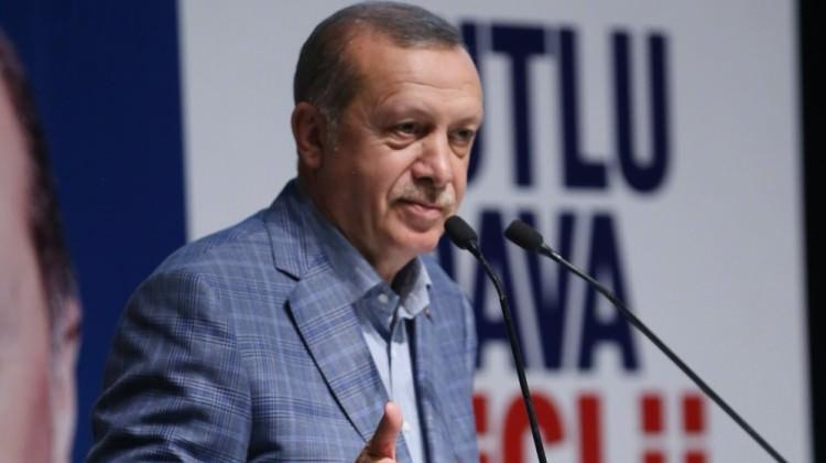Erdoğan'dan Dursun Özbek'e tebrik