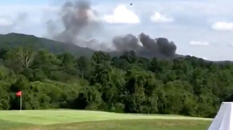 ABD'de kabus günü! Polis helikopteri düştü