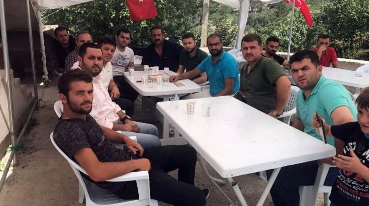Konyaspor'dan Eren Bülbül'ün ailesine ziyaret