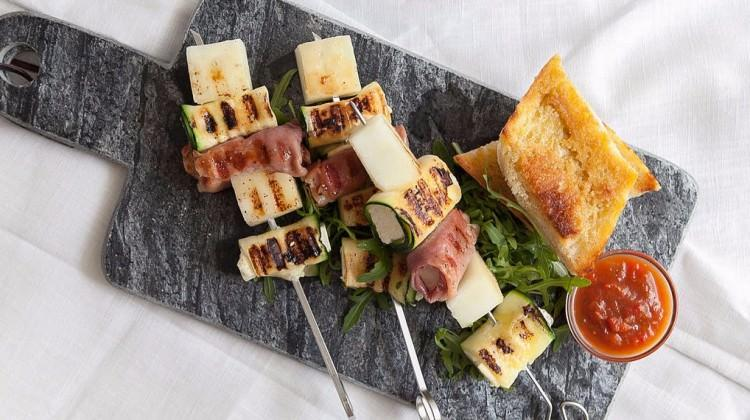 Peynirli Akdeniz ızgara tarifi